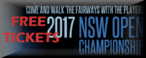 Free NSW Open Tickets Available